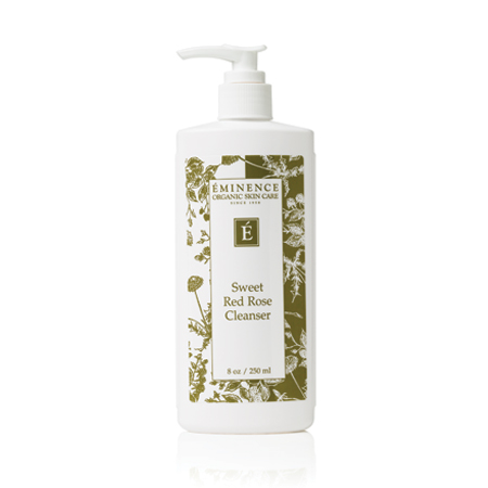 Eminence Organics | Organic Skin Care Sweet Red Rose Cleanser 856