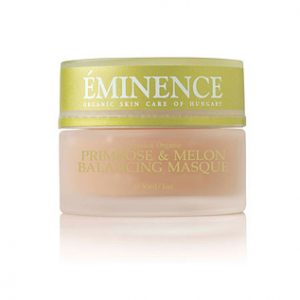 Eminence Organics | Organic Skin Care primrose and melon balancing masque