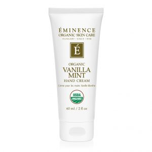 Eminence Organics | Organic Skin Care vanilla mint hand cream 2228