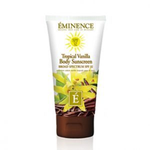 Eminence Organics | Organic Skin Care tropical vanilla body