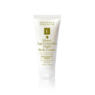 Eminence Organics | Organic Skin Care Monoi Age Corrective Night Body Cream