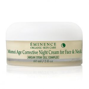Monoi Age Corrective Night Cream Face & Neck Eminence Organics | Organic Skin Care
