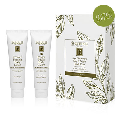 Eminence Organics | Organic Skin Shop | Organic Skin Shop | Buy Eminence | Age Corrective Day & Night Body Duo