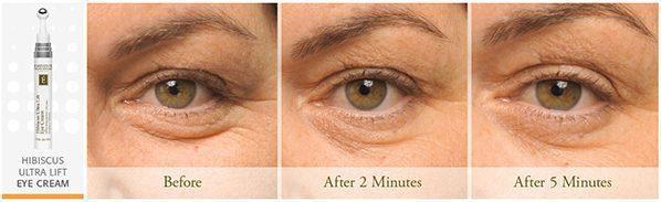Eminence Organics | Organic Skin Shop | Organic Skin Shop | Buy Eminence | Hibiscus Ultra Lift Eye Cream Results