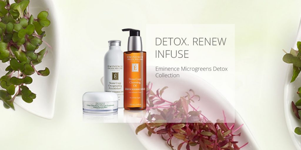 Read more on NEW from Eminence: Microgreens Detox Collection