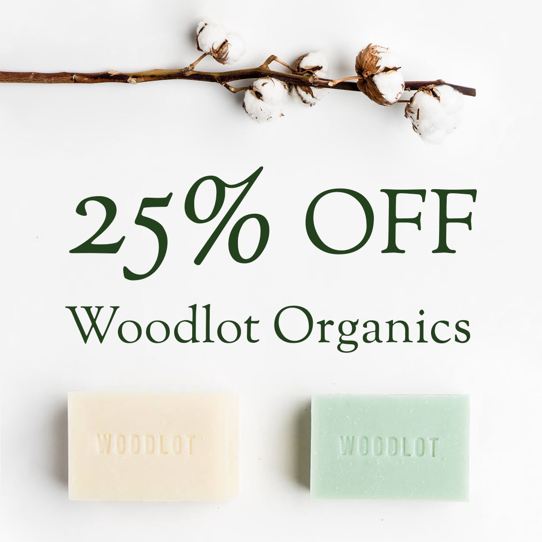 25% off Woodlot Organics   Organic Skin Shop online